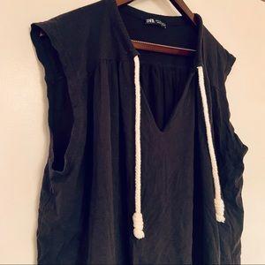 Zara Casual Shirt Dress